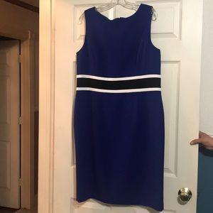 Ladies blue cocktail dress